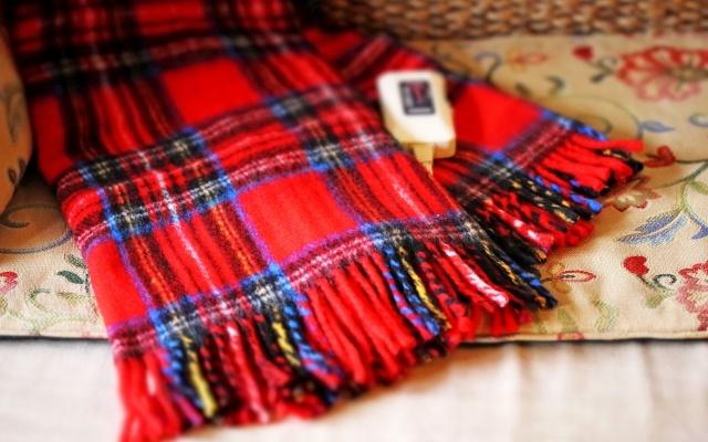 掛けるタイプの電気毛布