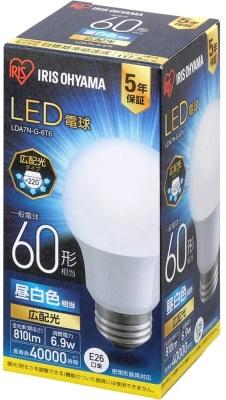アイリスオーヤマ LED電球 LDA7N-G