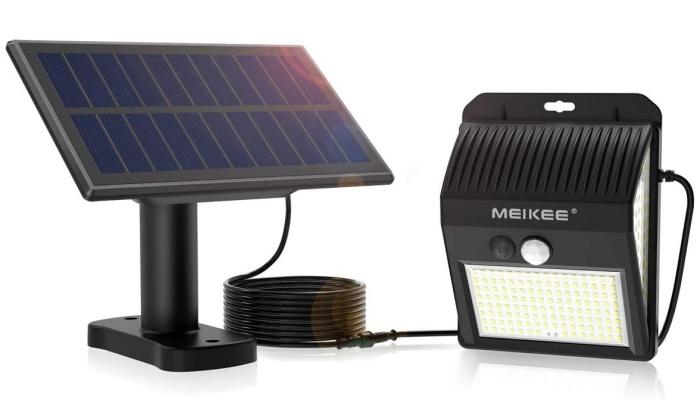 MEIKEE 分離型 センサーライト ソーラーライト