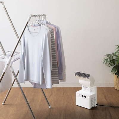 部屋干し乾燥する布団乾燥機