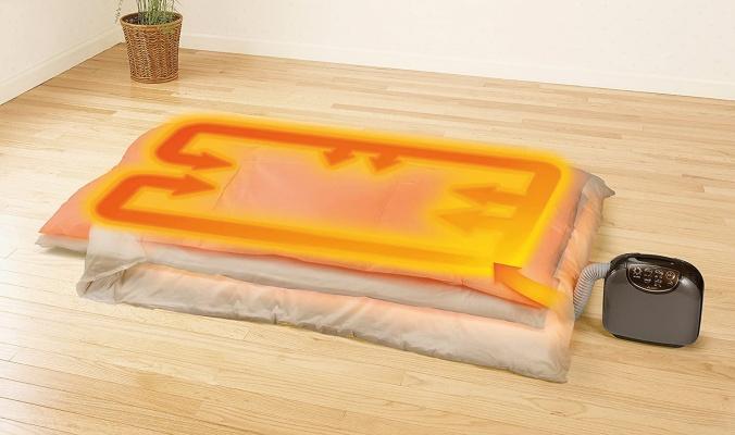 マットありタイプの布団乾燥機