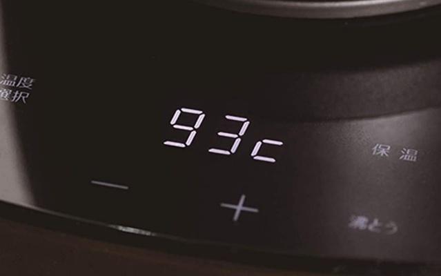 電気ケトルの保温機能