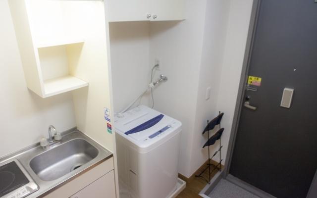 洗濯機の設置