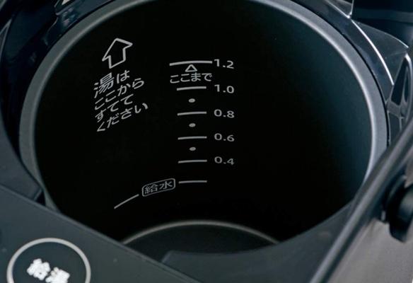 電気ポットの容量