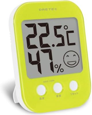dretec(ドリテック) デジタル温湿度計 オプシス O-230