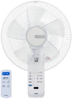 ユアサ(YUASA) リモコン式壁掛け扇風機 YTW-383CFR-W